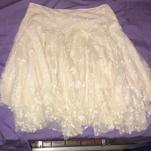 Nice flare rose skirt great condition